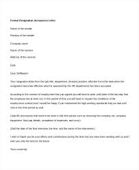 Download Resignation Letter Resignation Acceptance Letters Formal ...