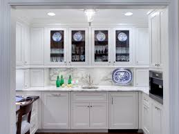 Chic Kitchen Cabinets With Glass Doors Photo