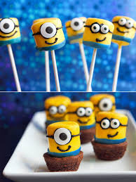 Marshmallow Minions Party Ideas