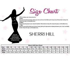 Sherri Hill Size Chart Sherri Hill Silver And Nude Crystals Sequin Embellished
