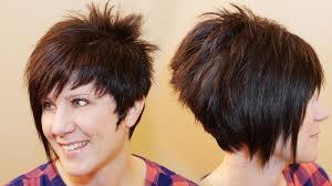 Aline Hair Style How To Cut Womens Hair Short Pixie Assymetrical Aline Haircut 2029 by wearticles.com