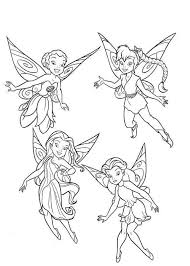 Small Picture coloring pages of tinkerbell and her friends tinkerbell and fairy