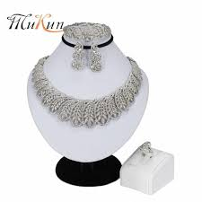 <b>MUKUN NEW</b> Gorgeous African Jewelry Sets Crystal High Quality ...