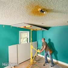 Why Remove Popcorn Ceiling When You Can Cover It With Drywall