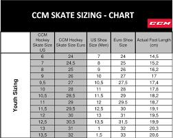 Ccm Goalie Pad Sizing Chart Ccm Super Tacks As1 Skates Yt