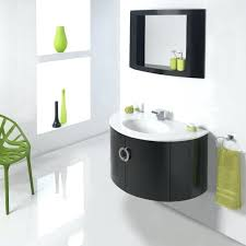 cool mission black mirror in clearance featuring shelf frame and high gloss round bathroom vanities plus