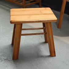 simple wooden step stool plans style solid wood stools rounded rectangle shaped plate home hotel furniture