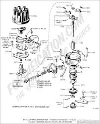 ford truck technical drawings and schematics section i dual advance distributor out governor typical 1964 1971 8 cylinder 292 302 330 352 390 engines
