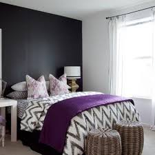 Grey Purple Bedroom Ideas 2