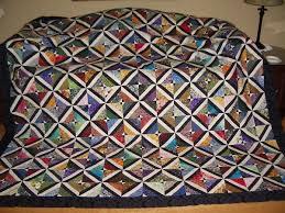 tube quilt pattern but she didn't follow instructions used ... & tube quilt pattern but she didn't follow instructions used somewhere around  80 different fabrics Adamdwight.com
