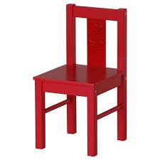 kritter children's chair red  ikea