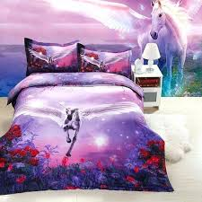 horse comforter bedding sets king twin queen size family bed cover linen luxury duvet set quilts