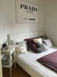 Schlafzimmer Deko Hinterm Bett Bett Dekoration Kissen Wohn Design