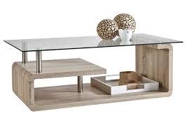 Petite Table Basse Bois Table Basse Chene Et Blanc Trendsetter