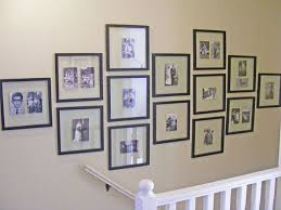 black picture frames wall. Same Size Black Frames As A Minimalist Stairs Gallery Wall Picture