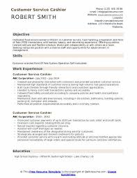 experience as a cashier customer service cashier resume samples qwikresume
