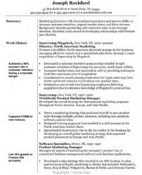 Resume Objective Summaryplates Writing For Recruiter Vs Examples Or