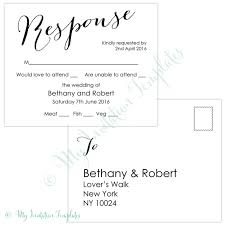 wedding rsvp postcards templates wedding dress design awesome wedding rsvp postcard template