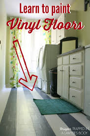 painting vinyl flooring awesome learn how to paint vinyl floors with this full tutorial