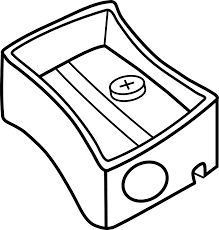 eraser clipart black and white. Fine Clipart Clipart Transparent Library Pencil Sharpener Panda Free  Pencilsharpenerclipartblackandwhite Graphic Eraser Black And White To Clipart Black And White