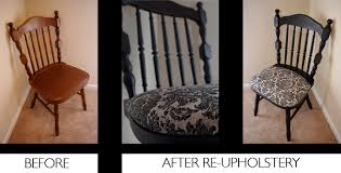 reupholsteredchair diy reupholstered dining room chairs