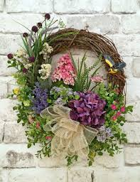 captivating outdoor wreath for front door fl spring summer silk gvine uk and fall window christma