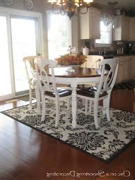 Different Area Rugs For Kitchen And Dining Room Rug Under Round - Dining room rug round table