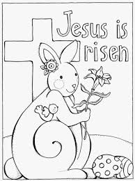 Printable Easter Coloring Pages For Sunday School Printable