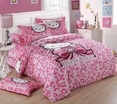 FADFAY Home Textile,Hello Kitty Queen Size Bedding Set,Hello Kitty Bedding, Hello