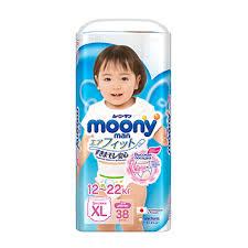 <b>Подгузники</b>-<b>трусики MOONY MAN</b> XL (от 12 до 17 кг) для девочек ...