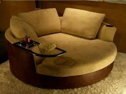 fancy plush design circle couch chair huge round fantastic sofa living room furniture