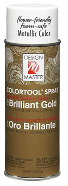 Design Master No 731 Brilliant Gold Colortool Spray Design Master 731 Garden Gold