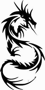 フリーイラスト素材 クリップアート 竜 龍 ドラゴン 神話伝説の
