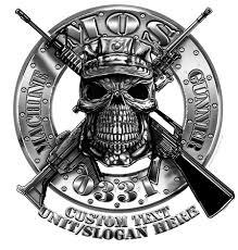 Usmc 0331 Usmc 0331 Machine Gunner Mos Vintage Signs