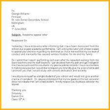 Written Warning Appeal Letter Template