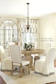 height of lamp over dining room table. how high to hang your chandelier over table height of lamp dining room e