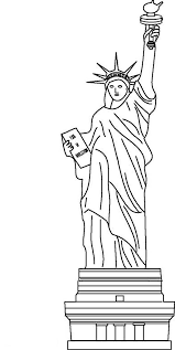 Small Picture Awesome Statue of Liberty Coloring Page Download Print Online