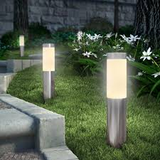 Light Fixture Outdoor Bollard Lighting Style Bistrodre Porch And