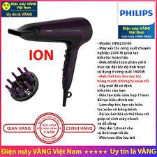 Máy sấy tóc Philips HP8108 BHC010 BHC015 BHD002 BHD004 BHD029 HP8232 HP8233  - Hàng chính hãng (Bảo hành 2 năm toàn quốc) chính hãng 249,000đ