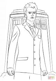 Beautiful Doctor Who Coloring Pages 19 For Free Coloring Kids with ...