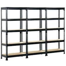 steel garage shelving unit