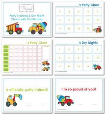 Potty Training Charts
