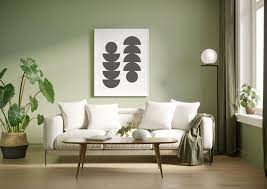 how to use olive green paint in any
