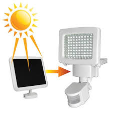 80 LED Solar Powered Motion Sensor Security Flood Light Outdoor 80 Led Solar Security Light