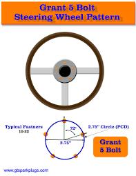 Steering Wheel Hub Patterns Gtsparkplugs