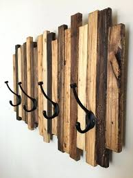 Homemade Coat Rack Enchanting Wood Art Ideas Coat Racks Coat Rack Ideas How To Make Homemade Wall
