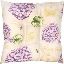 <b>Подушка</b> для <b>стула</b> «Сиреневый сад» 40х40 см цвет сиреневый ...