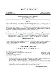 Manificent Design Military To Civilian Resume Examples Military To