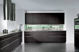 contemporary kitchens with dark cabinets. Amazing Dark Wood Modern Kitchen Cabinets Pictures Of Kitchens Contemporary With T