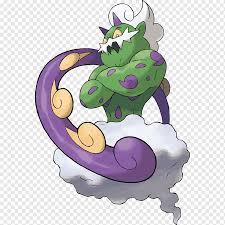 Pokémon Ultra Sun und Ultra Moon Pokémon Mystery Dungeon: Entdecker des  Himmels Tornadus Pokédex, Suicune, bulbapedia, Karikatur, erfundener  Charakter png